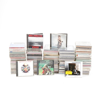 CDs Including Johnny Cash, Tina Turner, Bob Dylan, The Smiths, Santana, and More