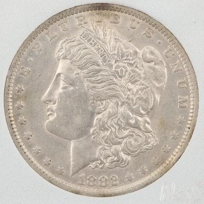1882-O Silver Morgan Dollar