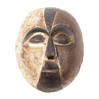 Decorative Wooden Galoa Style Mask