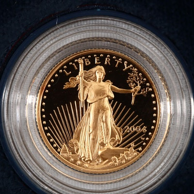 2004-W Five Dollar Proof Gold Eagle 1/10 oz. Bullion Coin