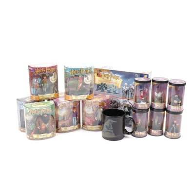 """Harry Potter Chess,  """"Magical Mini's Collection"""" Figurines and Coffee Mug"""