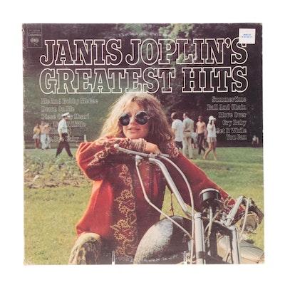 """Janis Joplin's Greatest Hits"" Record Album, 1973"