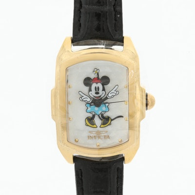 Invicta Minnie Mouse Limited Edition Stainless Steel Wristwatch