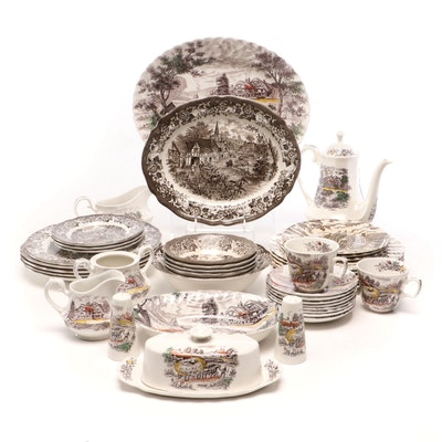 Royal Staffordshire, Royal Mail and Yorkshire Dinnerware