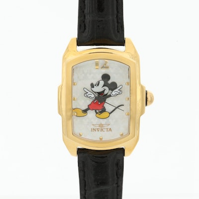 Invicta Mickey Mouse Limited Edition Stainless Steel Wristwatch