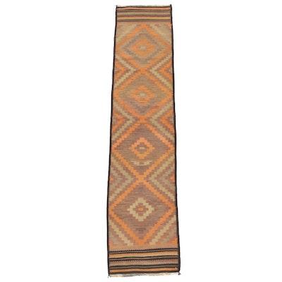 Handwoven Afghan Kilim Wool Carpet Runner