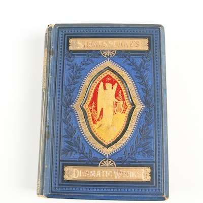 """The Dramatic Works of William Shakespeare"" with Notes by Robert Inglis, 1871"