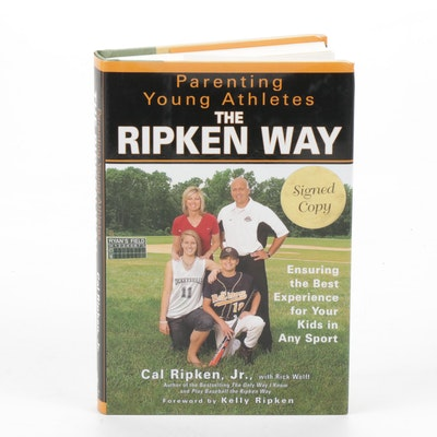 "Cal Ripken, Jr. Signed ""The Ripken Way"" Book"
