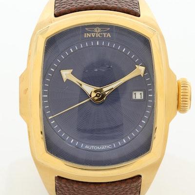 Invicta Lupah Gold Tone Automatic Wristwatch