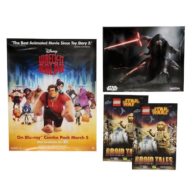 """""""Lego Star Wars: Droid Tales"""" and """"Wreck It Ralph"""" Promotional Mini Posters"""