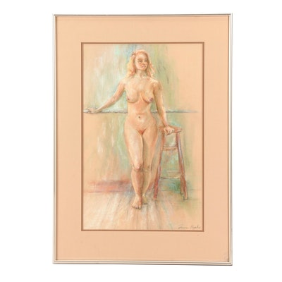Joan Ropke Pastel Figure Drawing