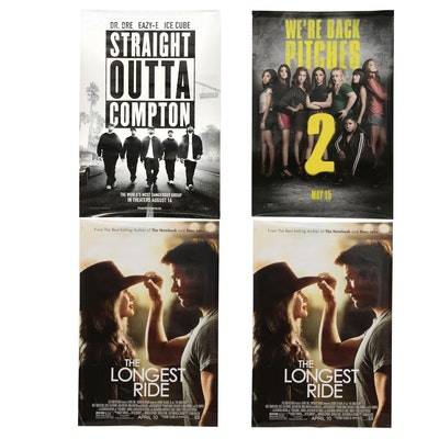 """""""Straight Outta Compton"""" and Other Double Sided Movie Posters"""