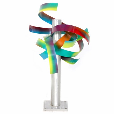 Mac Worthington Metal Sculpture
