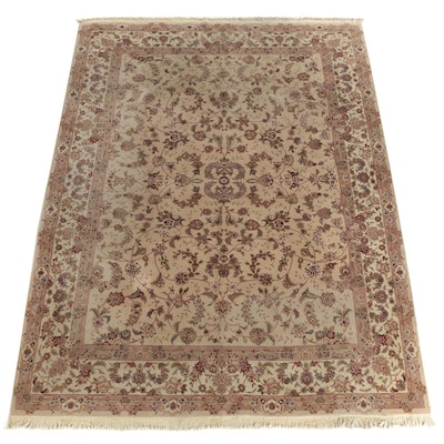 Finely Hand-Knotted Sino-Persian Wool Room Sized Rug