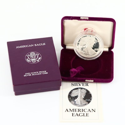 1987-S One Dollar U.S. Silver Eagle Proof Coin