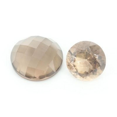 Loose Smoky Quartz Gemstones