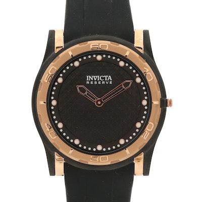 Invicta Reserve Slim Gold Tone Quartz Wristwatch