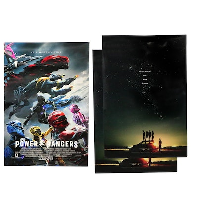 Power Rangers One Sided Movie Posters