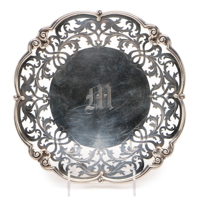 Lebkuecher & Co. Reticulated Sterling Silver Plate, 1896–1909