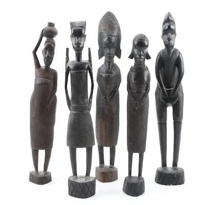 Kenyan Blackwood Sculptures