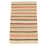 Handwoven Afghan Gabbeh Style Wool Kilim