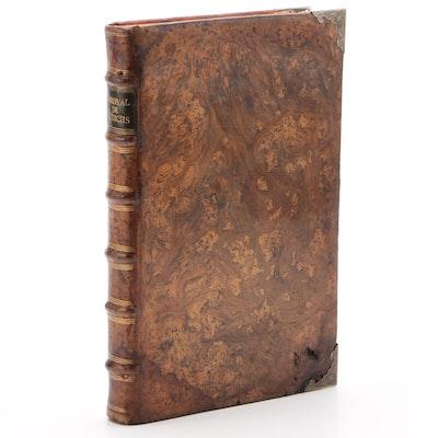 "1702 Latin ""Various Legal Disputes"" in Two Volumes by Tomás de Carleval"