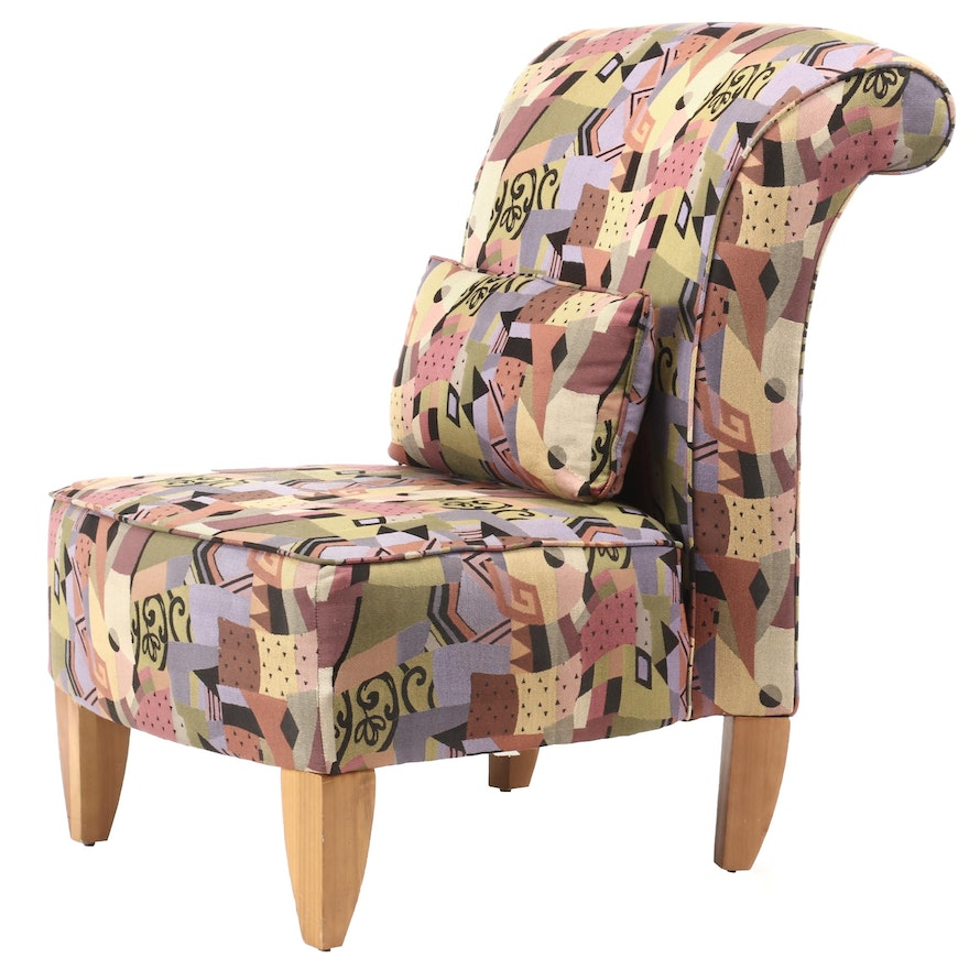 Sofa Express, Custom-Upholstered Slipper Chair