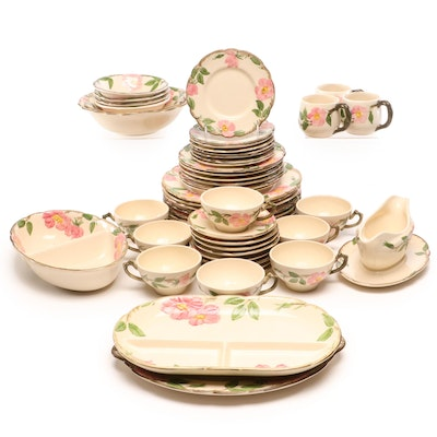 "Franciscan ""Desert Rose"" Dinnerware"