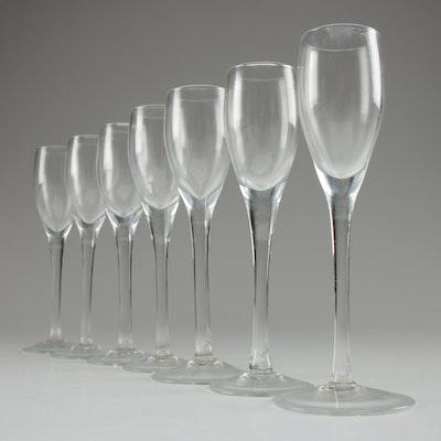 Long-Stemmed Cordial Glasses