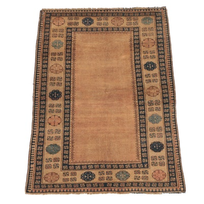 Hand-Knotted Persian Serab Wool Area Rug