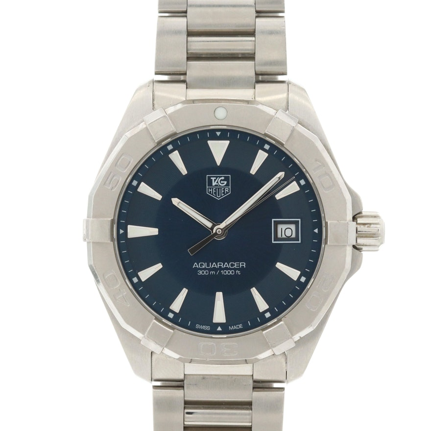 TAG Heuer Aquaracer Stainless Steel Quartz Wristwatch
