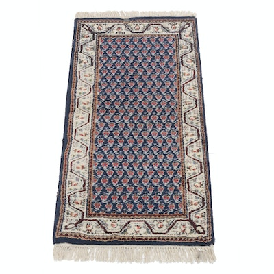 2'6 x 5'1 Hand-Knotted Indo Persian Mir Sarabano Rug