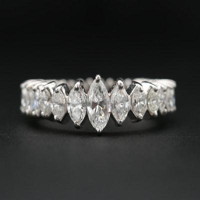 Platinum 2.49 CTW Diamond Eternity Band