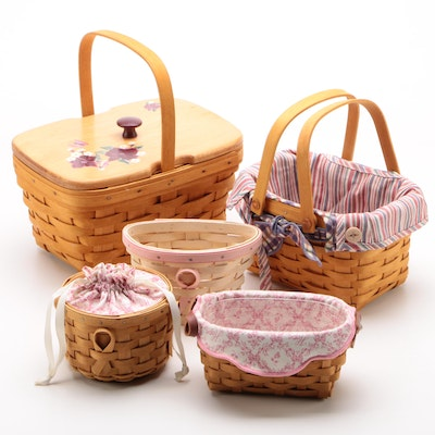 Longaberger Baskets including American Cancer Society Baskets