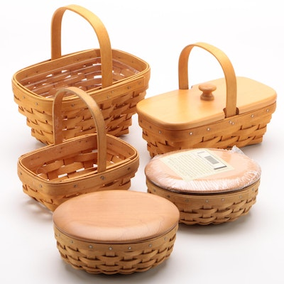 "Longaberger Baskets including American Cancer Society ""Horizon of Hope"" Basket"