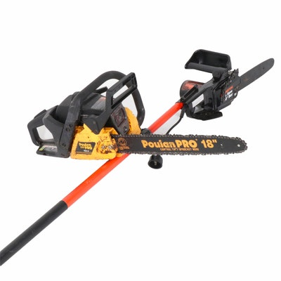 Poulan Pro Chain Saw and Remington Pole Saw