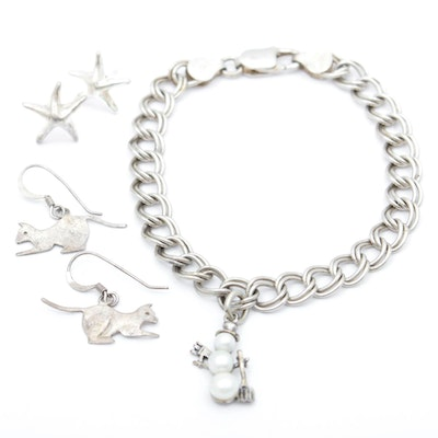 Sterling Silver Figural Jewelry