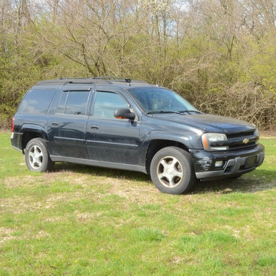 2005 Black Chevrolet TrailBlazer LS 4WD