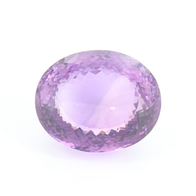 Loose 115.41 CT Amethyst Gemstone
