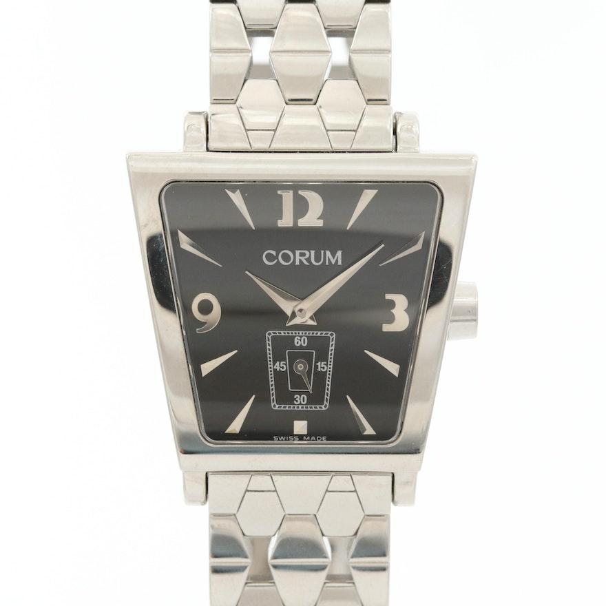 Corum Trapeze Stainless Steel Quartz Wristwatch