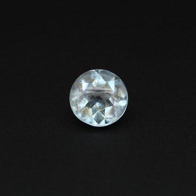 Loose 2.32 CT Round Faceted Topaz Gemstone
