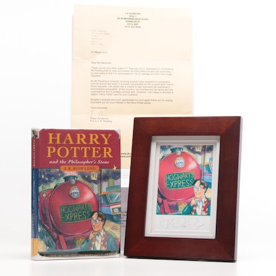 "First UK Edition, Fourth Printing ""Harry Potter and the Philosopher's Stone"""