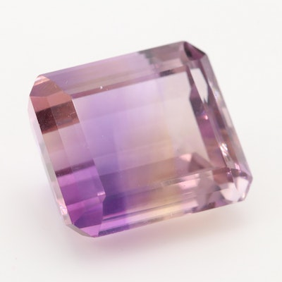 Loose 21.80 CT Ametrine Gemstone