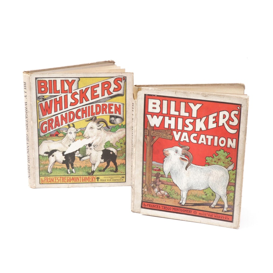 """Early 20th Century """"Billy Whiskers'"""" First Edition Books"""