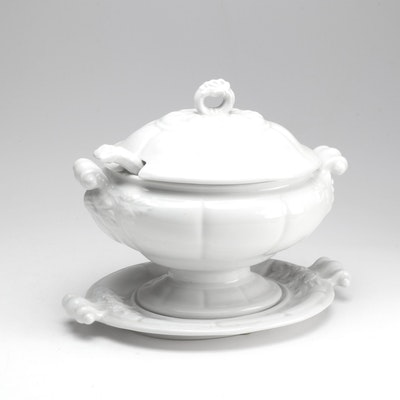 Red Cliff Ironstone Soup Tureen, Early to Mid 20th Century