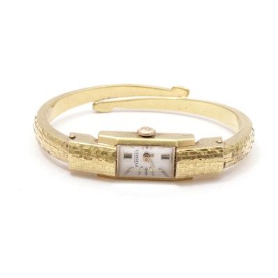 Ernest Borel Gold Plated Swiss Wristwatch