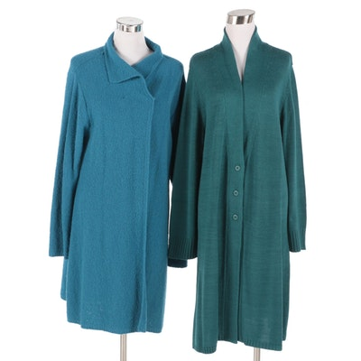 Christine Thomson and Modern Soul Wool Blend Outerwear