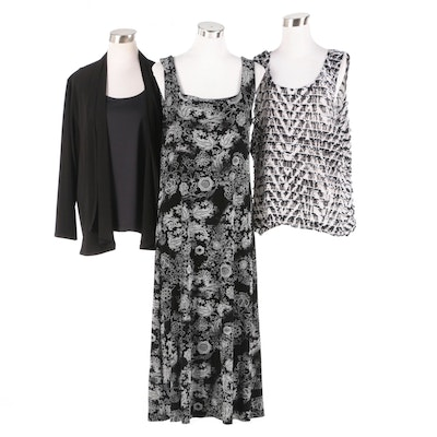 Chico's Dress, Cardigan and Tops