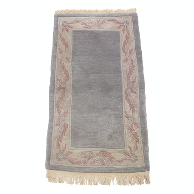2'5 x 5'0 Hand-Knotted Tibetan Persian Gabbeh Rug
