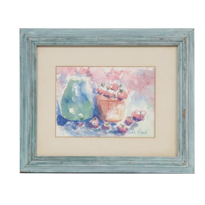 Clark Hyland Still Life Watercolor Painting